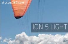 ION 5 light XXS inklusive GIN Concertina Compressbag