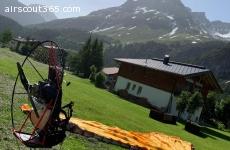 Paramotor set / pilot bis 90 kg
